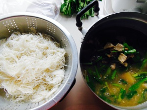 Finished Rat-Naa and Noodles